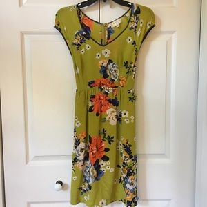 Anthropologie Floral Dress - NWOT